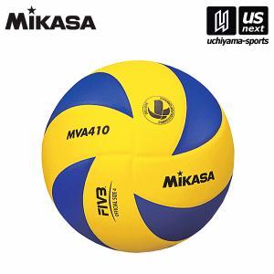 [自社]ミカサ MIKASA バレーボール 練習球4号 MVA410/中学校/家庭・婦人/ママさんバレー/2017年継続モデル(ネコポス不可)|uchiyama-sports