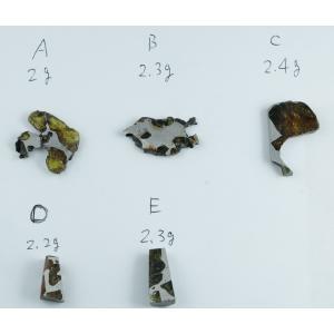 イミラック・パラサイト 石鉄隕石 カケラ 2~2...の商品画像
