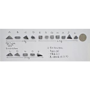 お守りギベオン 隕石 2.7〜3.0g Gibeon meteorite