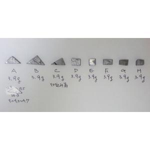 お守りギベオン 隕石 3.4〜3.6g Gibeon met...