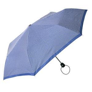 A165 A72 TOTES トーツ ネイビードット 傘 折り畳み傘 レディース 国内正規品|ネットDE腕時計わっしょい村