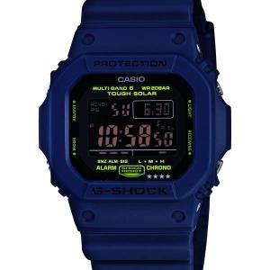GW-M5610NV-2JF CASIO  カシオ G-SHOCK 電波ソーラー 青 ブルー ジーシ...