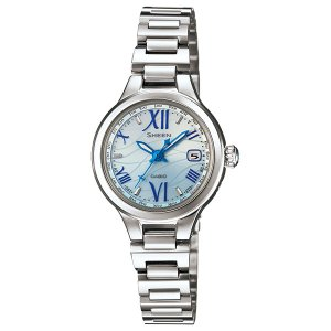 SHW-1700D-2AJF CASIO カシオ SHEEN シーン  電波ソーラー世界6局 レディース腕時計 ポイント消化|udetokei-watch