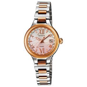 SHW-1700SG-4AJF CASIO カシオ SHEEN シーン  電波ソーラー世界6局 レディース腕時計 ポイント消化|udetokei-watch