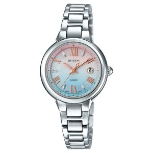 SHE-4516SBJ-7CJF シーン SHEEN カシオ CASIO スワロフスキー クリスタル レディース 腕時計 スワロフスキー・クリスタル|udetokei-watch