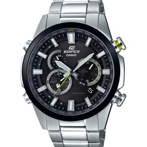 EQW-T640DB-1AJF CASIO カシオ EDIFICE エディフィス メタル電波ソーラー クロノグラフ アナログ メンズ 腕時計 送料無料 国内正規品|udetokei-watch