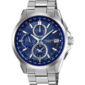 OCW-T2600-2A2JF クラシックラインスマートアクセス 電波ソーラー チタン ブルー 青 タフソーラー OCEANUS オシアナス CASIO カシオ|udetokei-watch