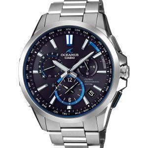 OCW-G1100T-1AJF OCEANUS オシアナス CASIO カシオ GPSハイブリッド 電波ソーラー  チタン クロノグラフ ワールドタイム メンズ 腕時計 国内正規品 送料無料|udetokei-watch