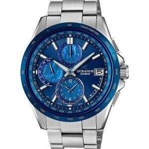 OCW-T2610F-2AJF OCEANUS オシアナス CASIO カシオ 日本製 T2600 シェルダイアル メンズ 腕時計 国内正規品 送料無料|udetokei-watch