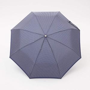 8402 A72 TOTES トーツ Line 手動折り畳み傘 レイングッズ 雨具 レディース 晴雨兼用 国内正規品 ネイビードット|ネットDE腕時計わっしょい村