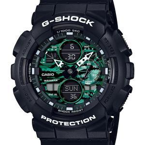 GA-140MG-1AJF CASIO カシオ G-SHOCK ジーショック gshock Gショック g-ショック ブラック メンズ 腕時計 国内正規品 送料無料|ネットDE腕時計わっしょい村