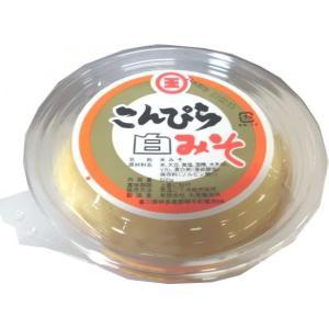 丸尾醸造所 こんぴら味噌 白みそ うす塩味 甘口 500g