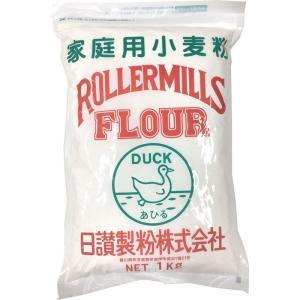 日讃製粉 うどん粉 緑あひる(ミドリアヒル) 1kg(約10-12食分)