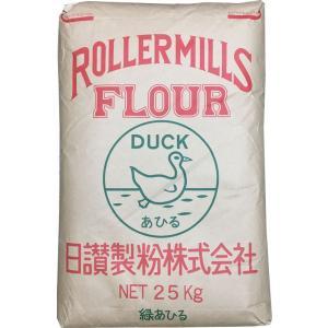 日讃製粉 うどん粉 緑あひる(ミドリアヒル) 25kg(約300食分)