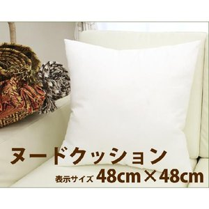 ヌードクッション パンヤ 中材 48×48cm 正方形 スクエア|uedakaya