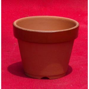 植木鉢 陶器 和風 おしゃれ 盆栽 山野草 盆栽 仕立鉢 ラン 蘭 園芸鉢 駄温鉢(深)3号