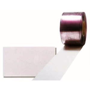 のれん式ビニールカーテン 一般透明制電フラットタイプ 2mm×300mm×12m アキレスミエール uemura-sheet