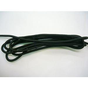 カット販売 丸ゴム ゴム紐 繊維被覆タイプ 直径8mm ゴムロープ