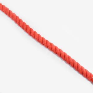 カット販売 赤 エステルカラーロープ 直径8mm