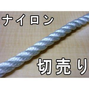 カット販売 ナイロンロープ 直径22mm|uemura-sheet