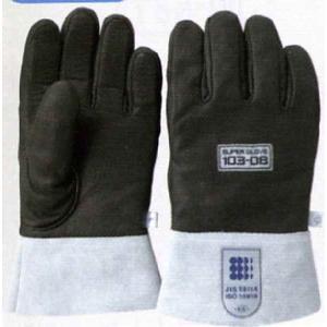 スーパーグローブ防振 JIS新規格対応防振手袋 (おたふく手袋 103-08)|uemura-sheet