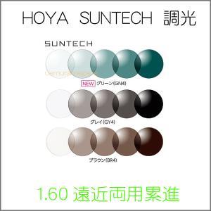 HOYALUX SUNTECH ホヤラックス1.60サミットプロ/CDサンテック調光 遠近両用 2枚1組|uemuramegane