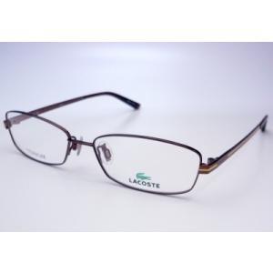 LACOSTE ラコステ LA26328−BR 薄型レンズ付きセット|uemuramegane