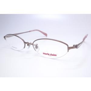 マリクレール marie claire メガネセット MC-3002-3BR HOYA薄型レンズ付きセット フレーム 度なし 度付き mc3002|uemuramegane