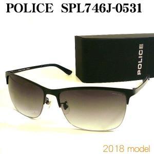 ポリス サングラス 2018 POLICE SPL746J-0531|uemuramegane