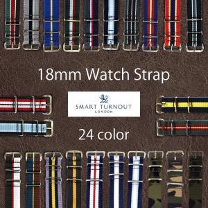 SMART TURNOUT スマートターンアウト WATCH STRAP/ウォッチストラップ 18mm(時計ベルト)/メール便発送 代引不可/