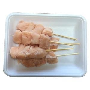 信州福味鶏ササミ串<30g×5本(150g)> 長野県産 信州福味鶏 鶏肉 ササミ 串 串焼き 焼き鳥 焼肉 バーベキュー BBQ|ueshokufood