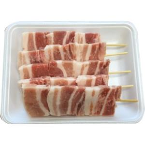 上信ポークバラ串<50g×5本(250g)> 長野県産 信州 国産豚 豚肉 ポーク バラ 串 串焼き 焼肉 バーベキュー BBQ|ueshokufood