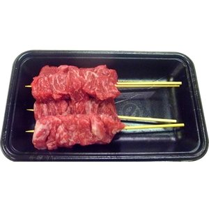 黒毛和牛串<30g×5本(150g)> 牛肉 牛串 串焼き 串 ビーフ 焼肉 バーベキュー BBQ|ueshokufood