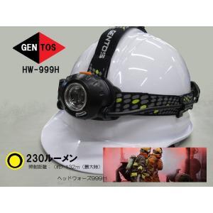 【GENTOS】ヘッドウォーズ999H:LED...の関連商品7