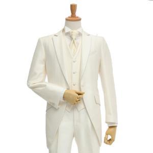 レンタル タキシード 送料無料 TX-064 白タキシード 結婚式  パーティ 二次会  貸衣装 新郎 ブライダル ウエディング タキシードレンタル|ueyama