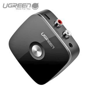 Bluetooth レシーバー オーディオレシーバー 3.5mm RCA ブルートゥース受信機 AAC EDR対応 ワイヤレス 高音質再生 車載AUX スピーカー等 CM123 30445|ugreen-oaplaza