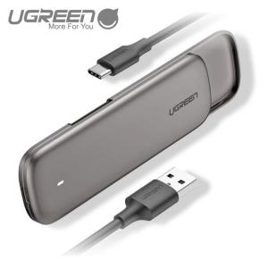 UGREEN USB-C 3.1 Gen2 M.2 SSD 外付けケース SATA NGFF (B Key & M+B Key) UASP対応 6Gbps 2230 2242 2260 2280対応 簡単着脱 HDDケース CM238 60355 NP ugreen-oaplaza