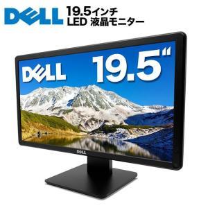 DELL デル 液晶モニター 19.5インチワイド 黒 ブラック LEDバックライト 1600x900 (WXGA++) TN 非光沢 ノングレア DVI D-Sub VGA E2014HF ディスプレイ【中古】|ugreen-oaplaza