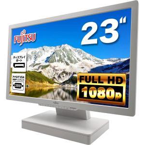 富士通 Fujitsu 液晶モニター VL-B23T-7 DY23T-7 23インチワイド ホワイト フルHD(1920x1080) 非光沢 TFTカラーパネル ディスプレイポート VGA HDMI|ugreen-oaplaza