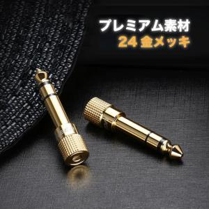 【2個セット】3.5mm 6.5mm 変換 ステレオミニプラグ ステレオ標準プラグ 変換アダプタ オーディオ アンプヘッドホン変換 1年保証 20503 NP|ugreen-oaplaza