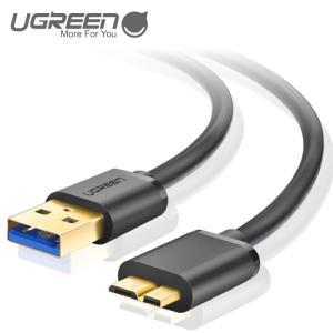 USB ケーブル MicroB-USB 3.0 A データケーブル usb マイクロ 急速充電ケーブル ポータブルHDD/SSD 外付けBDドライブ 等に対応 US130 10840 NP ugreen-oaplaza