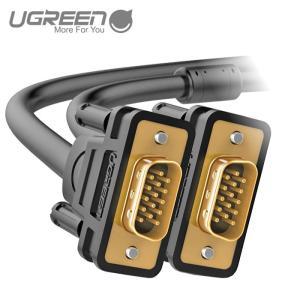 UGREEN VGAケーブル ディスプレイケーブル ディスプレイ、プロジェクター、HDTVなど用のオス-オス 1080P 金メッキコネクタ 2m VG101 11646 ugreen-oaplaza