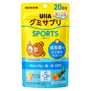 UHA味覚糖 グミサプリ KIDS SPORTS 20日分|uha-mikakuto