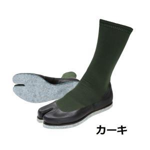 阪神素地フィッシングたび F-01G ソックス+フェルト底|uido