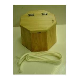 箱正・チヌ落し込み用●八角カニ桶[28]|uido