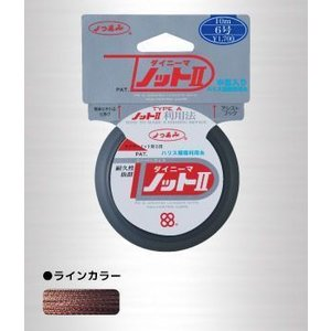 よつあみ(YGK YOZ-AMI) ダイニーマノットII 10m 50号|uido