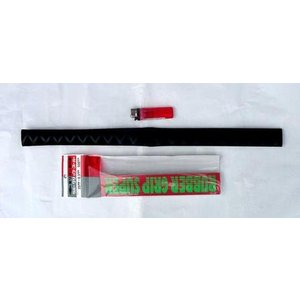 竿を強力ガード 熱収縮ラバーグリップスーパー 25mm(内径)×05mm(厚さ)×500mm(長さ)|uido
