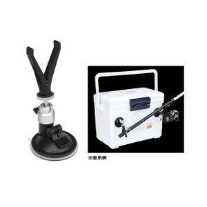 プロックス●ロック機能付●吸盤竿受(2ヶ入)PX-865|uido