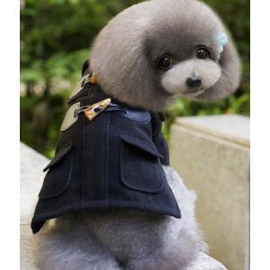 欧風 ラシャコート かっこいい犬の服 小型犬中型犬用 春秋冬用 ワンちゃん用ペット服 ドッグウェア ...
