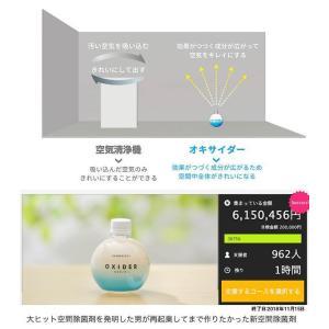 オキサイダー 置き型 空間 除菌剤 おくだけ 除菌|uis|04